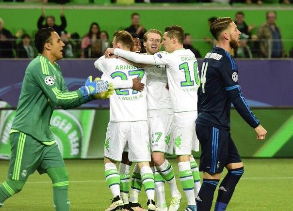 Лига чемпионов. «Реал» пропустил 2 гола в первом тайме
